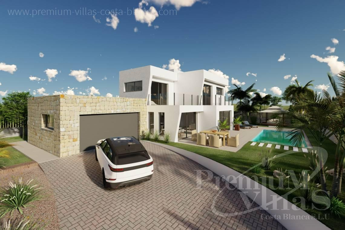 Modern Villa in Calpe Costablanca - C2312 - Modern 4 bedroom villa near the beach in Calpe 4