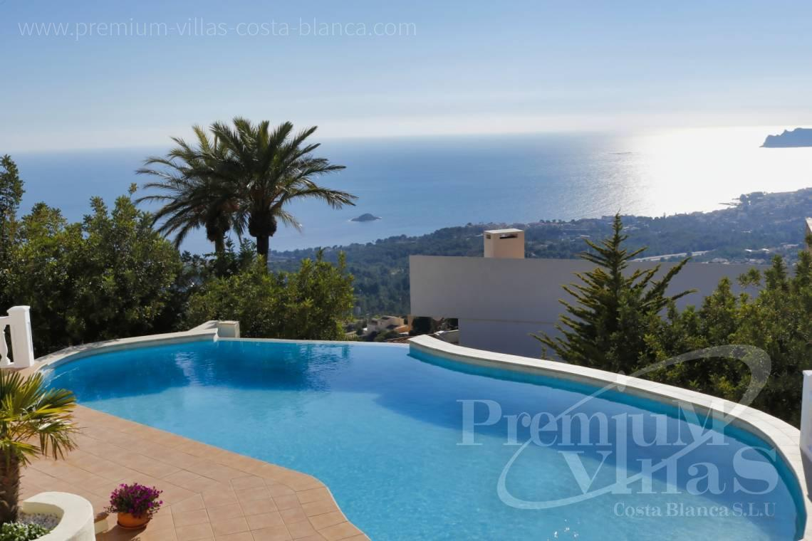 Buy luxury villa with sea views in Altea on the Costa Blanca - C2251 - Luxury villa in prime location in Altea 2