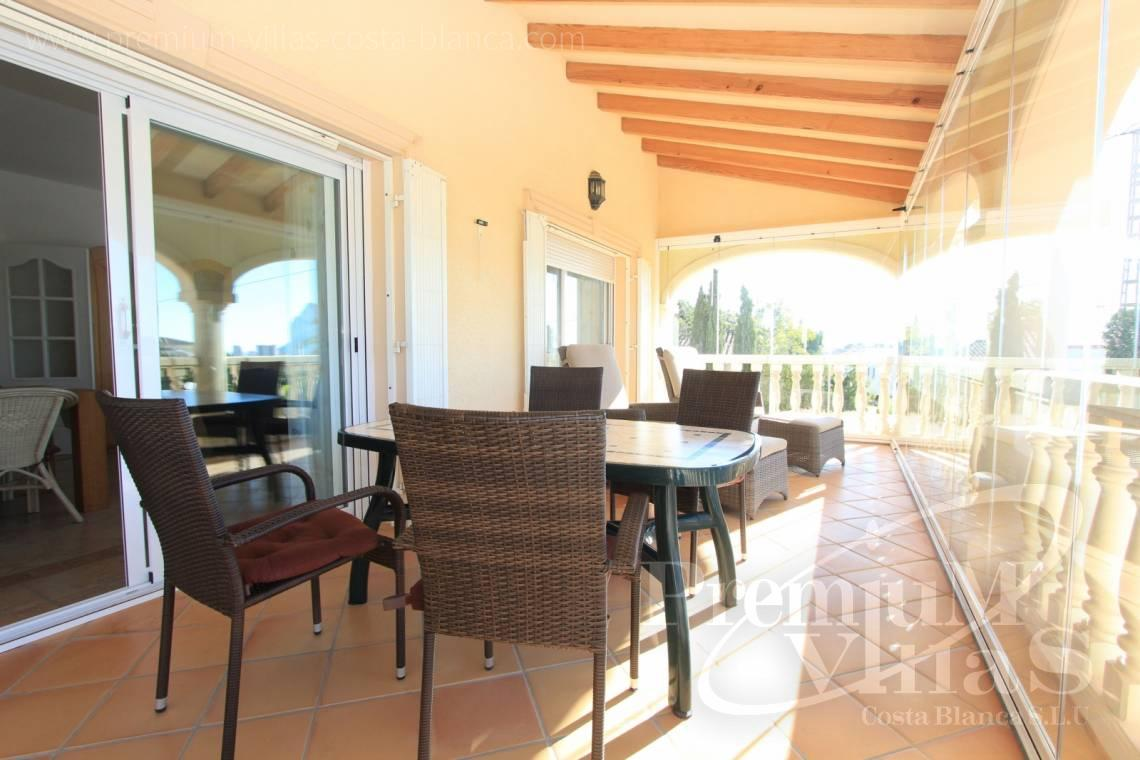 House villa for sale Calpe Costa Blanca - C2001 - Mediterranean villa built on one floor with sea view 5