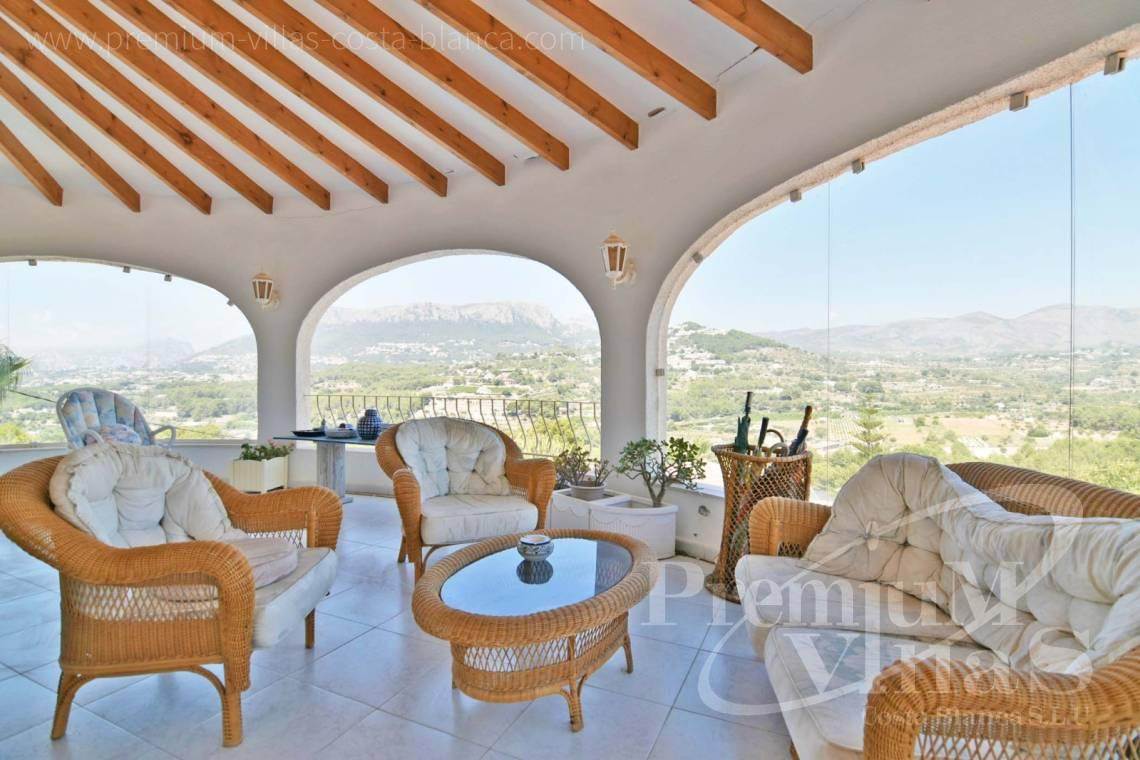 Villa for sale in urbanization Cometa de Calpe - C2114 - Villa with heated pool and spectacular mountain views in Calpe 5