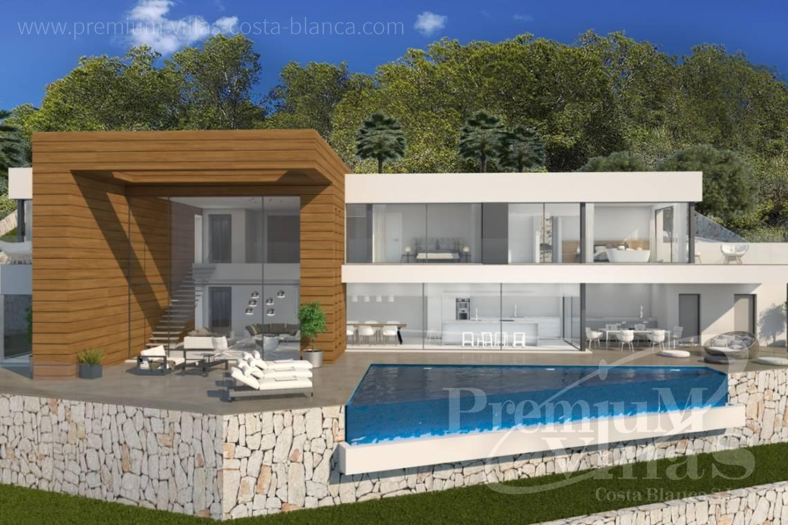 Buy Villa house Moraira Costa Blanca - C2133 - New construction villa 4km from Moraira 1