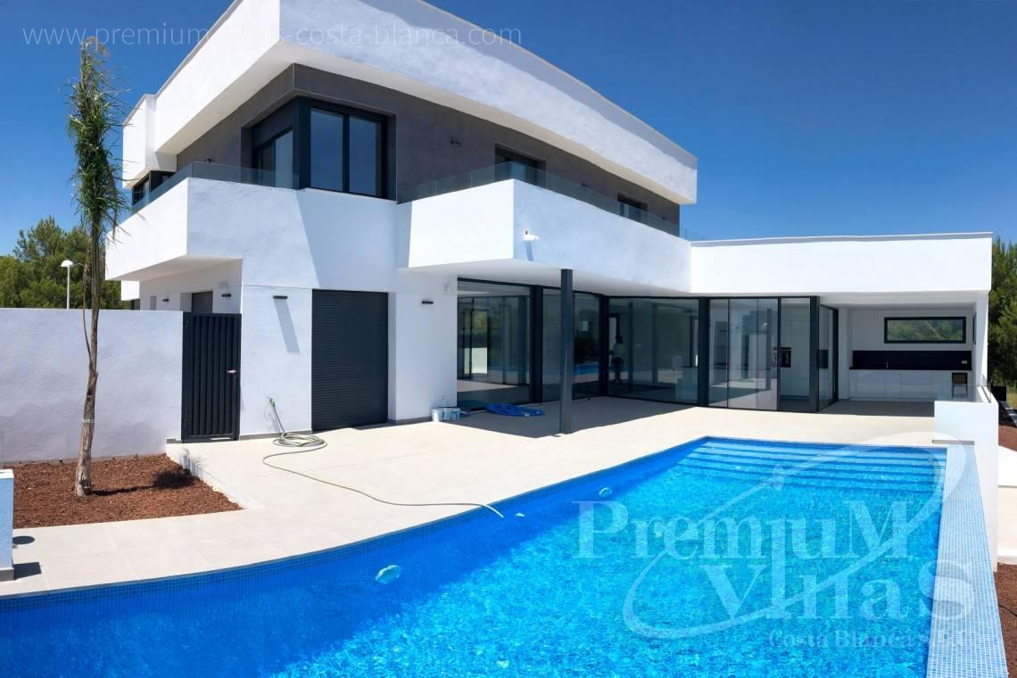 Buy modern villa in Calpe Costa Blanca - C2042 - Modern villa for sale in Calpe with nice sea views 26