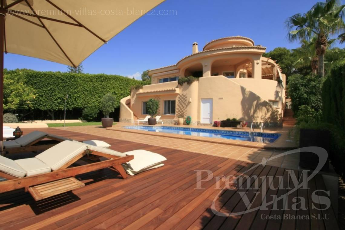 Buy villa in Moraira Costablanca - C2031 - Beautifull Villa in Moraira for sale with sea views  1