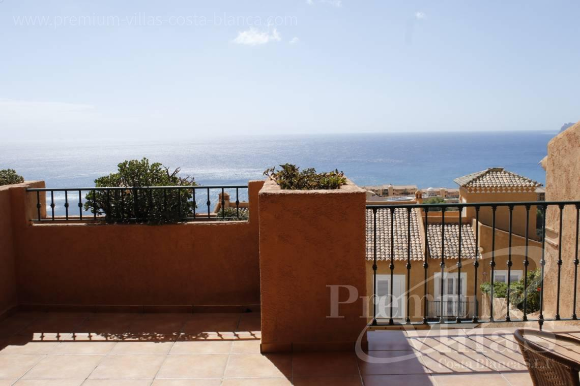Buy property Mascarat Altea - C2224 - Bungalow in Mascarat near the beach, with spectacular views of the bay of Altea 2