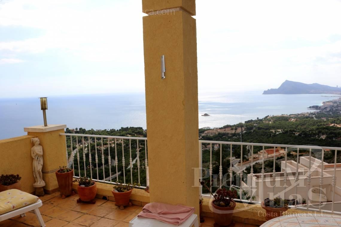 Buy bungalow with sea views in Altea Costa Blanca - C2086 - Cosy townhouse with wonderful sea views in the Sierra of Altea 2