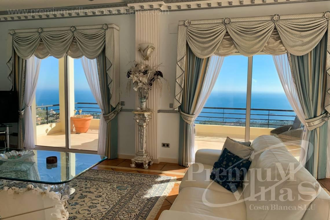 Mansions for sale Altea Costa Blanca Spain - C2410 - Luxury house with stunning sea views in the Sierra de Altea 9