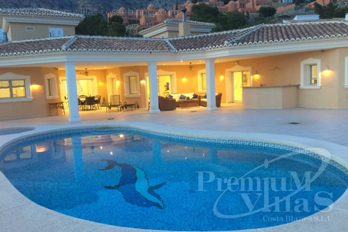 house villa for sale Altea Costa Blanca Spain - C2163 - Beautiful villa with guest studio and stunning views over the bay of Altea 27