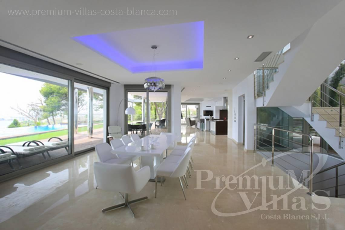 modern villas for sale Costa Blanca Spain - C1531 - Sea front villa in Altea! A unique luxury villa at the Costa Blanca 6