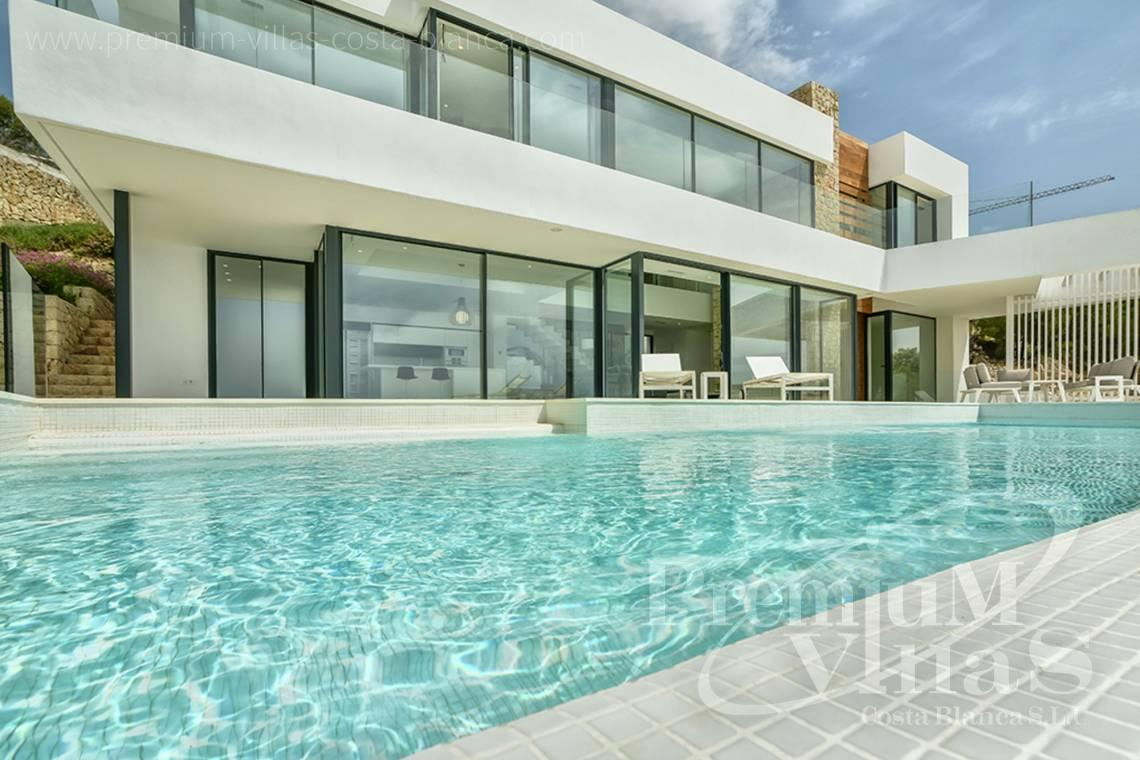 Modern villa for sale in Calpe Spain - C2080 - Modern villa for sale with spectacular sea views in Calpe 28