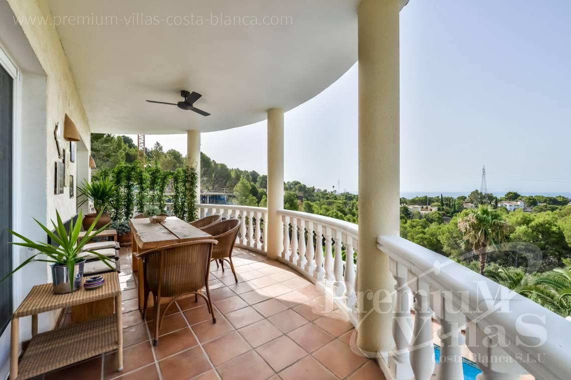 - C2439 - Sea view villa with spacious guest apartment in Altea 30