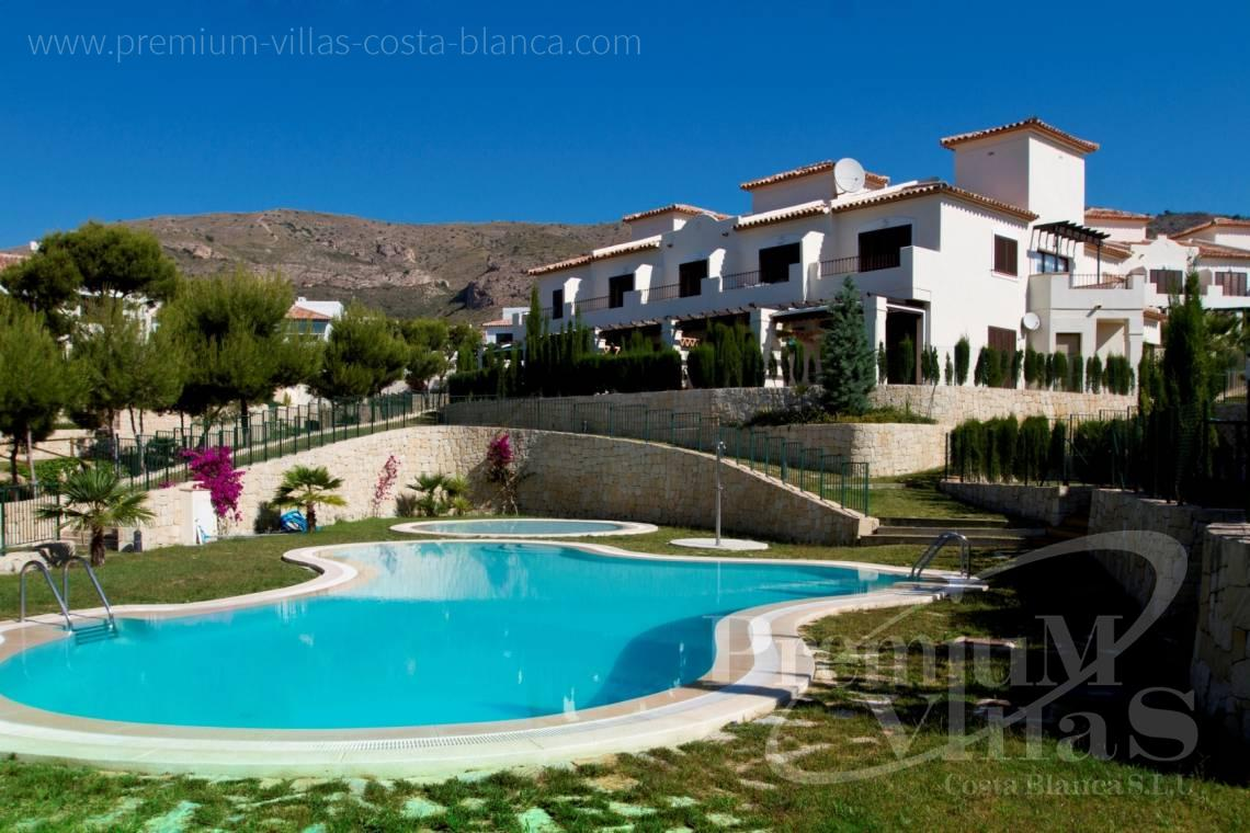 2 bedroom terraced houses for sale in Finestrat Alicante - C2281 - 2 bedroom terraced houses in Finestrat 1