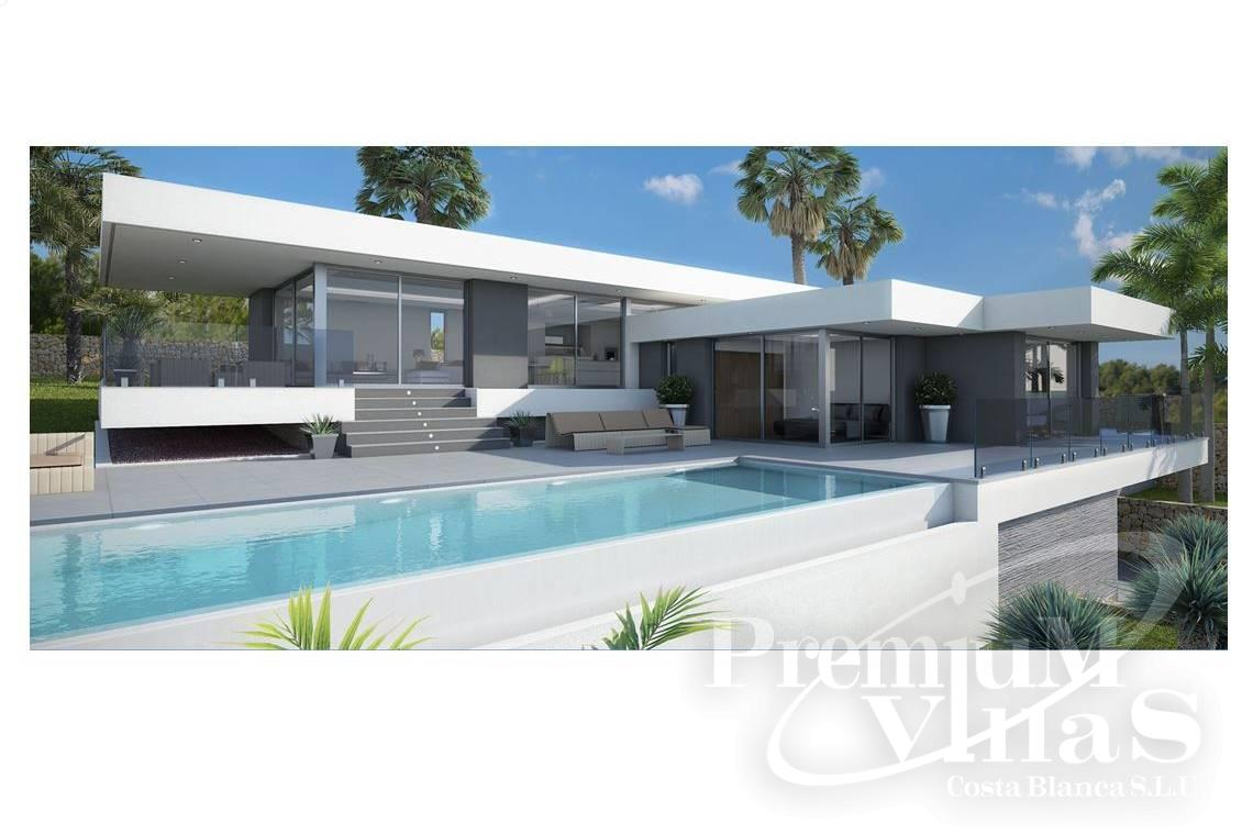 Modern one storey villa in Oltamar Calpe - C2103 - Modern house built on one floor with breathtaking sea views 1