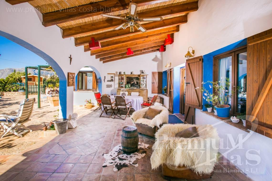 finca, land house for sale Benissa Costa Blanca - C2170 - Beautiful finca in Benissa with breathtaking sea views 5