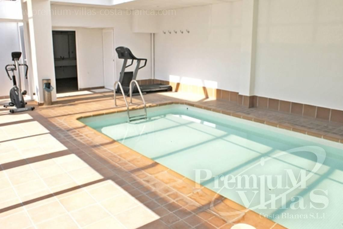 Apartment in urbanization with heated swimming pool and gym in Cap Negret Altea - AC0615 - First line beach apartment in Altea 6