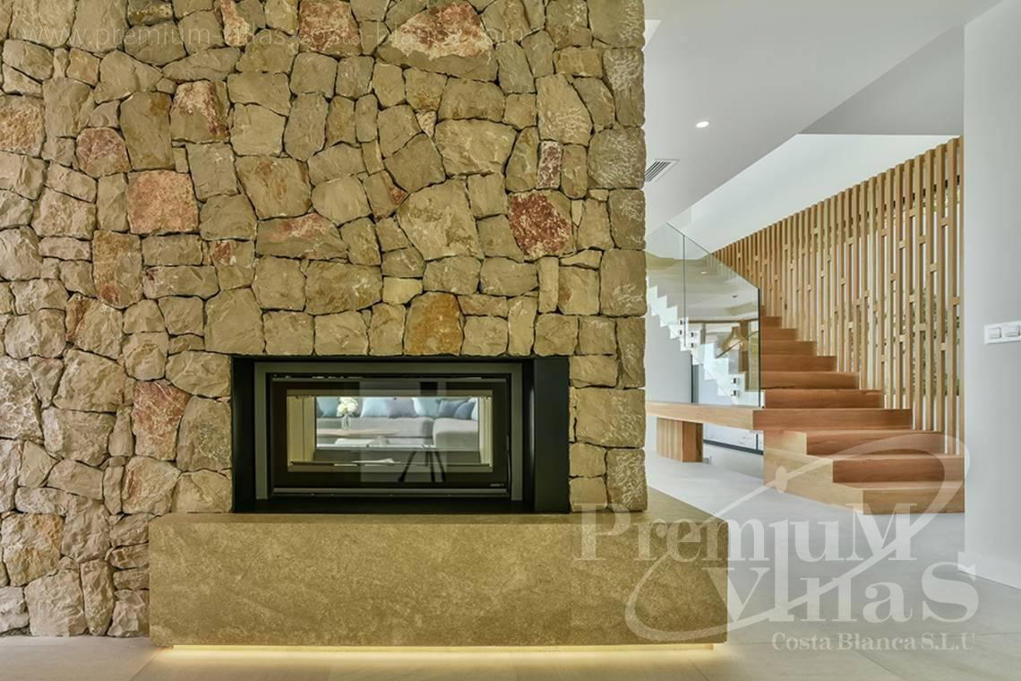 - C2080 - Modern villa for sale with spectacular sea views in Calpe 11