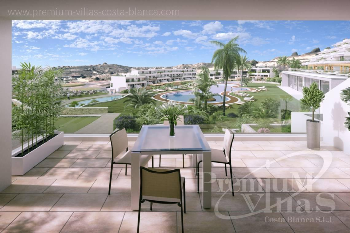 Buy penthouse duplex in Finestrat Spain - A0623 - Duplex with garden or solarium in luxury urbanization in Finestrat 1