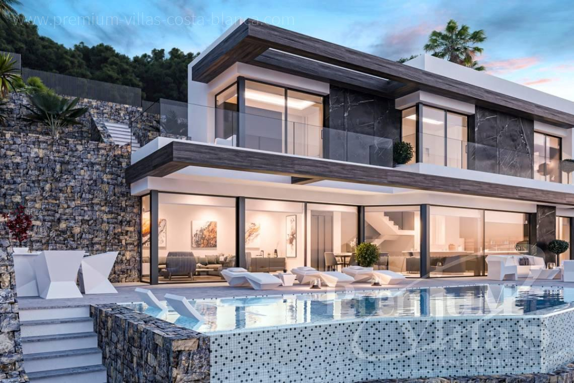 - C2490 - Modern luxury villa with panoramic sea views in Calpe 1