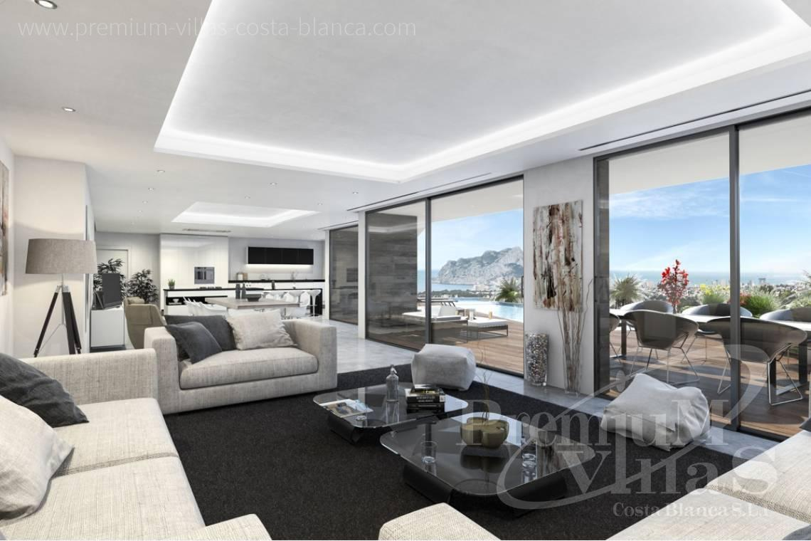 Luxury villa with sea views in Benissa Costa Blanca - C2000 - Modern luxury villa in Benissa for sale with stunning sea view 10