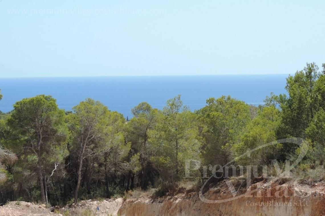 Plot for sale with sea views in Benissa Costa Blanca - 0208G - Urban plot in Benissa with sea views 1.5km from the beach 1