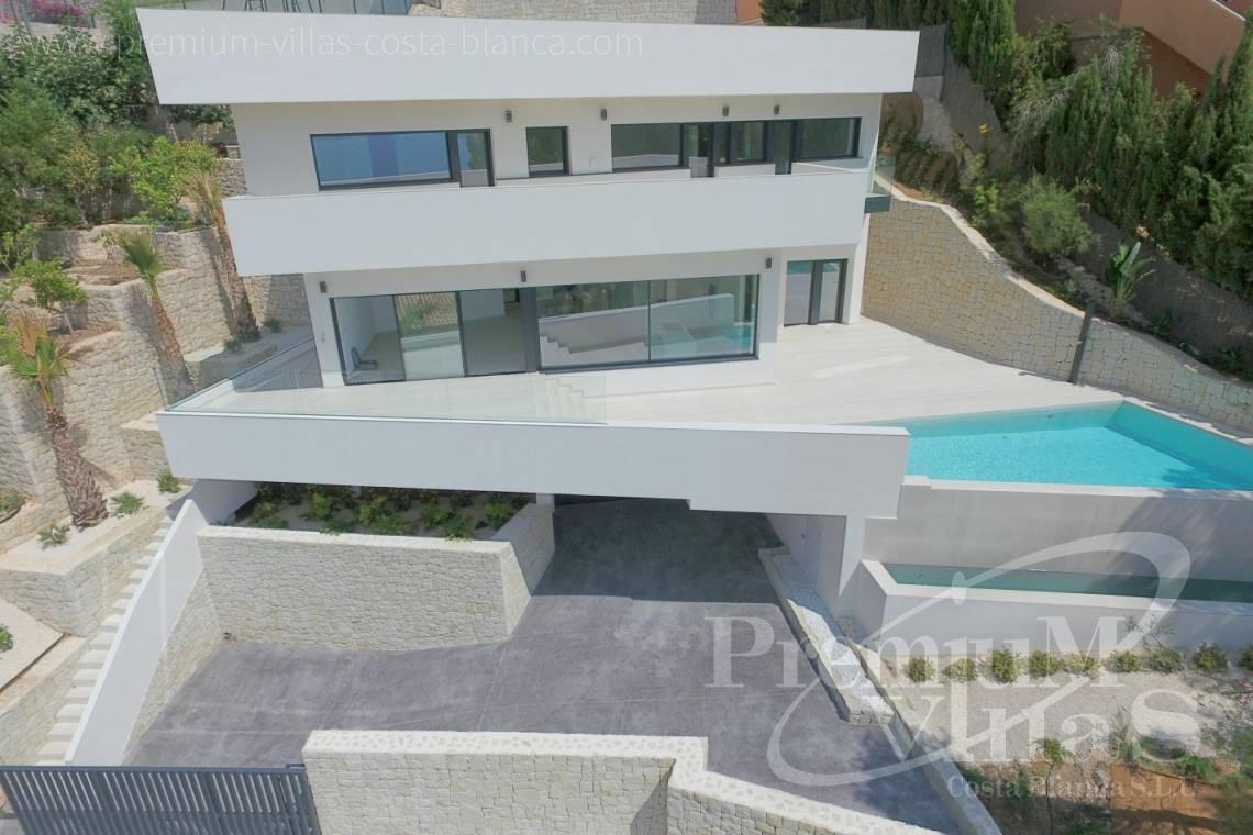 Modern 4 bedroom villa for sale in Altea Hills Costa Blanca - C2138 - New construction of a modern villa in Altea Hills with fantastic views 29