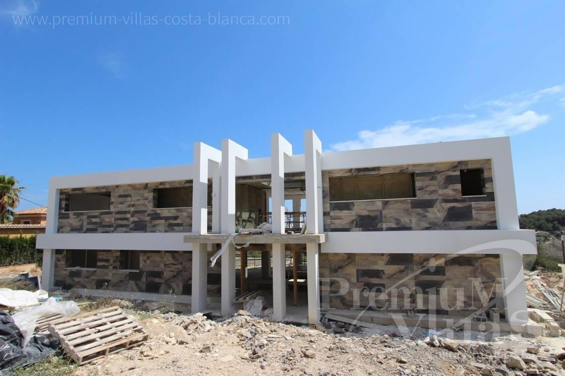 Buy luxury villa in Benissa Costa Blanca - C1698 - Modern design villa for sale with nice sea views in Benissa  3