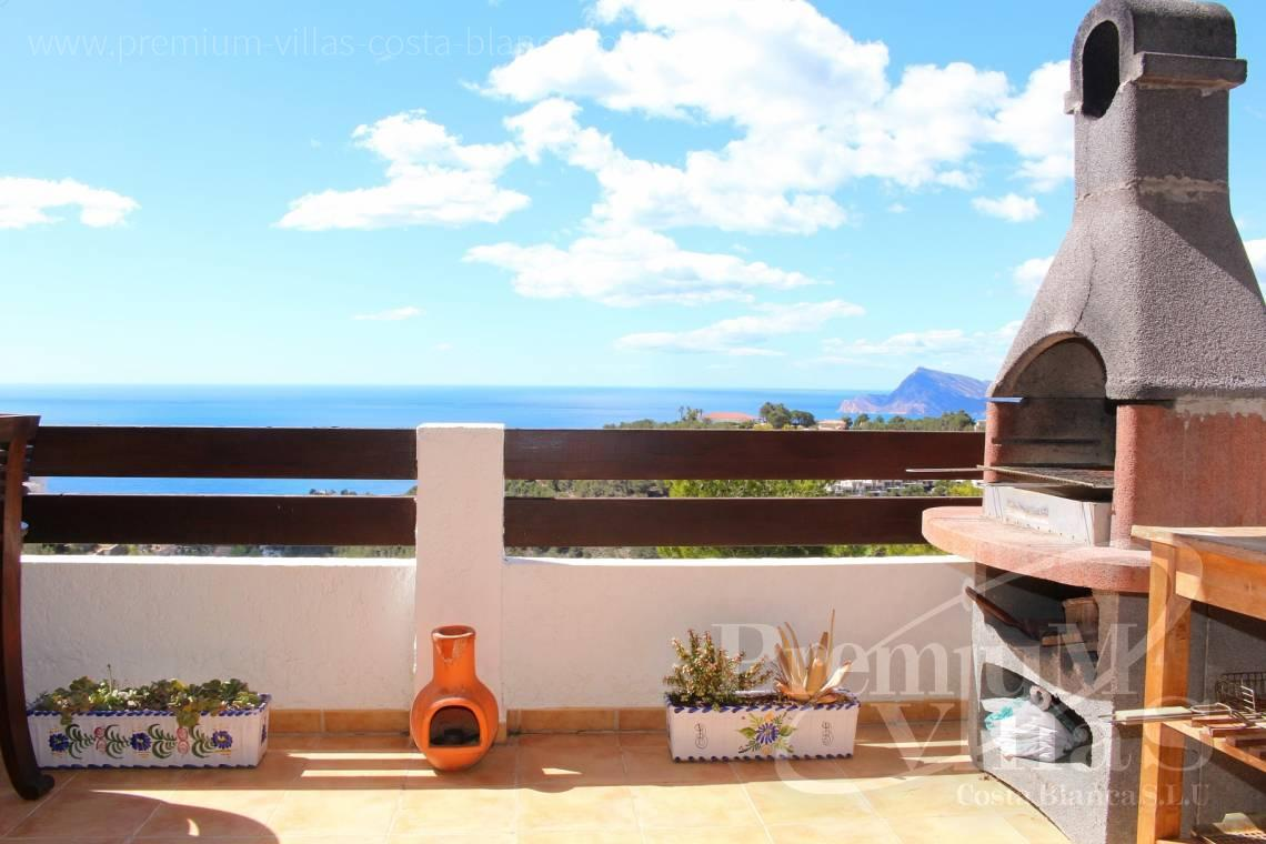 C1781 - Cozy corner townhouse with nice terraces, fantastic sea views in Altea Hills! 5