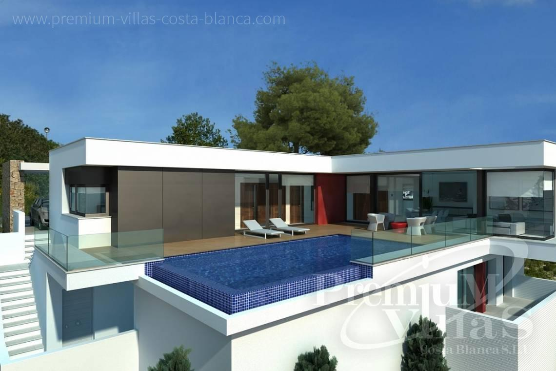 Buy modern villas in Benitachell Costa Blanca - C2025 - Modern new build with fantastic sea views 1