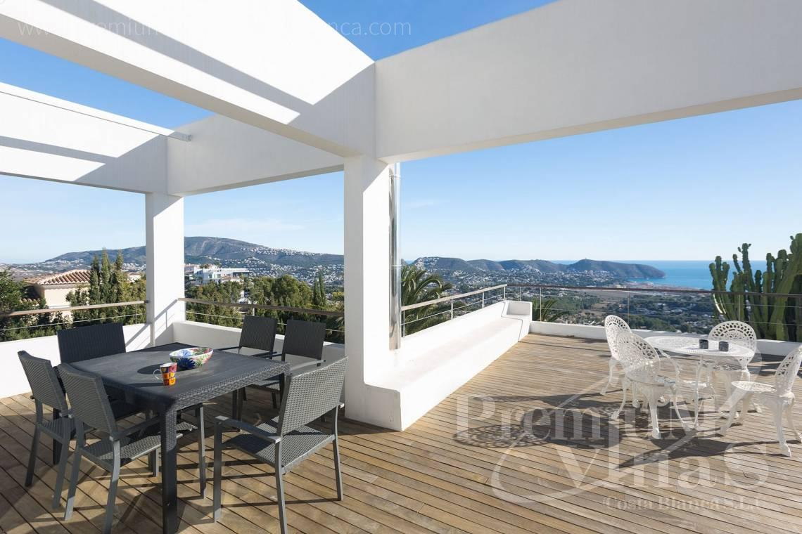 Modern villa with sea views for sale in Moraira Costa Blanca - CC2385 - Modern villa with panoramic sea views in Moraira 3