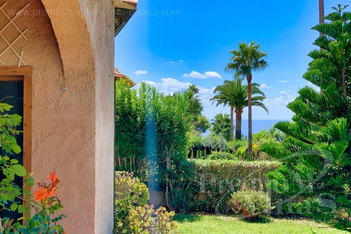 - A0683 - Ground floor with large garden and sea views in Altea Hills 5