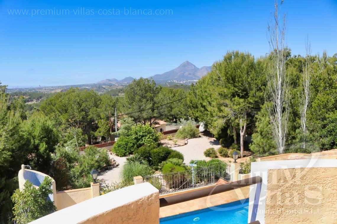 For sale villa with panoramic views in Altea La Vella Spain - C2274 - 4 bedroom villa with sea views in Altea La Vella 4