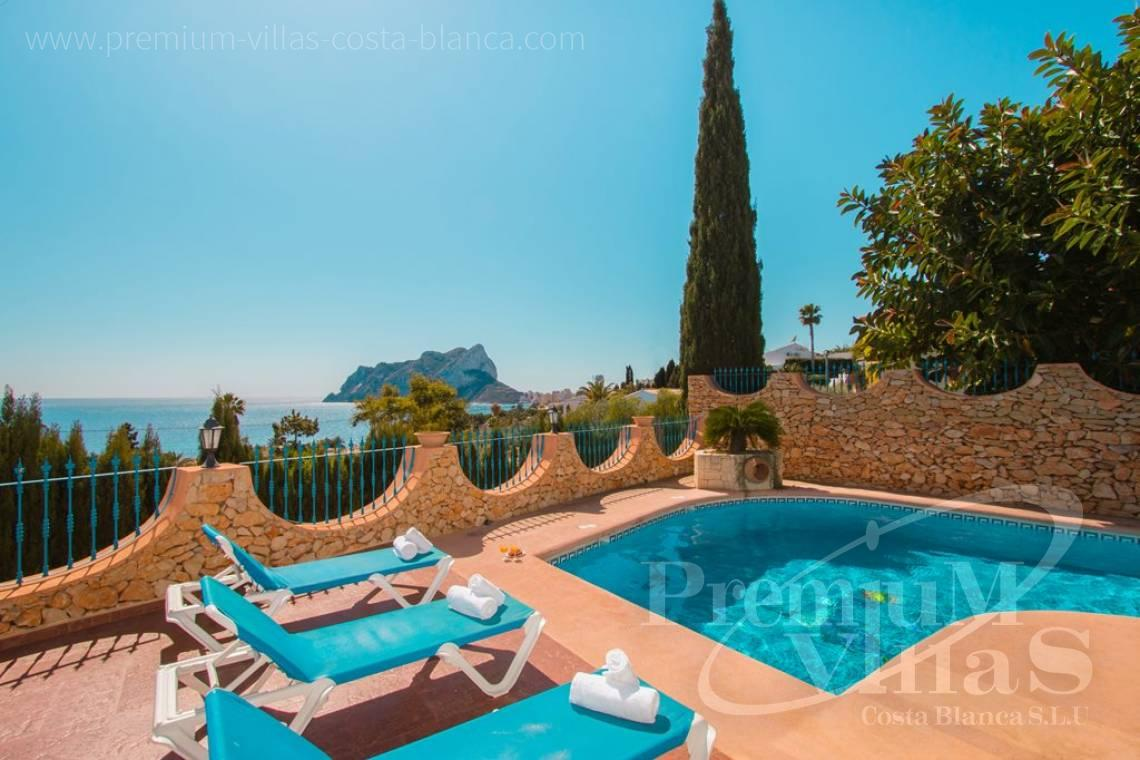 House villa for sale Calpe Costa Blanca - C2175 - Charming villa in Calpe 500m from the beach, with wonderful sea views 1