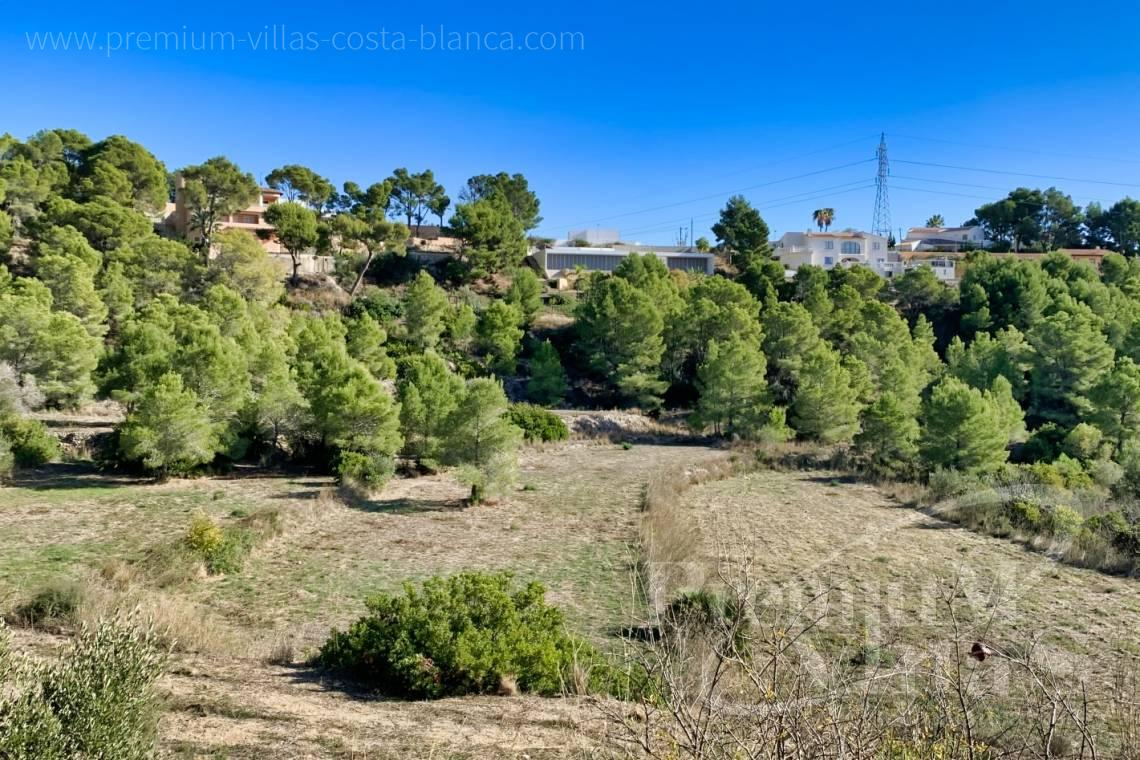 - 0221G - 16.300m2 rustic plot with sea views in Altea la Vella 5