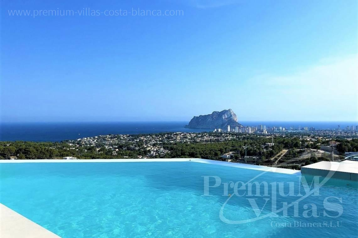 Modern Villa with sea views for sale in Benisa Costablanca - C2076 - Modern villa in Benissa with fantastic sea views 3