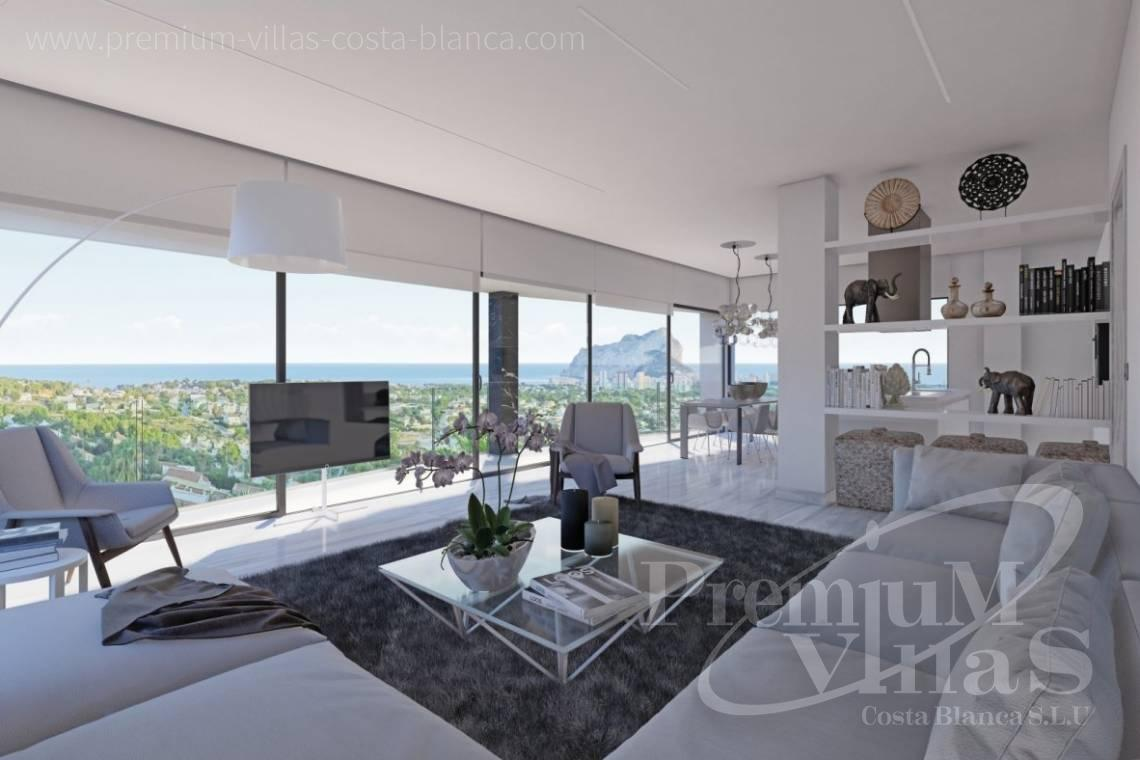 - C2390 - Modern villa with elevator and sea views in Calpe 9