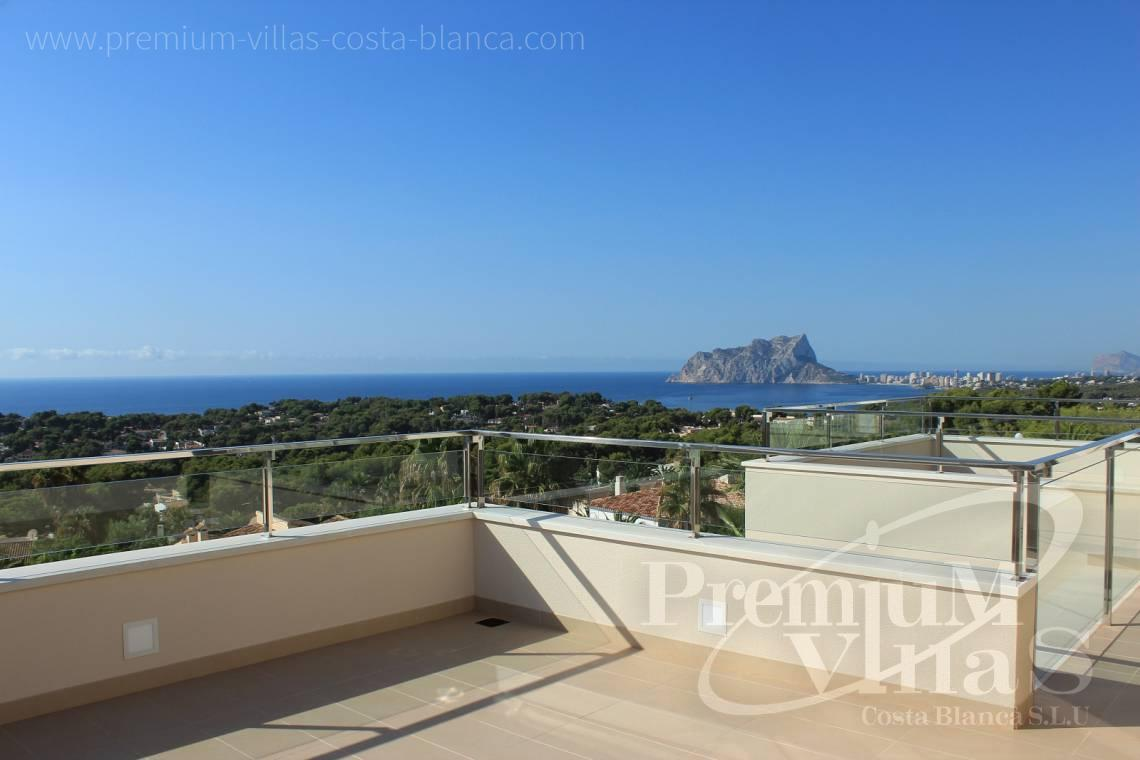 Buy modern villa in Moraira Costa Blanca - C1637 - Modern luxury villa in Moraira with nice sea views 3