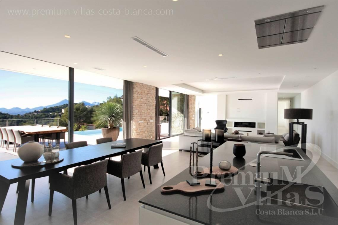 property for sale Altea Hills - C2172 - Newly built luxury villa in Altea Hills with panoramic sea views. 6
