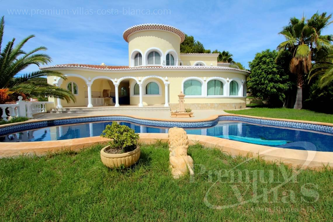 buy finca, land house Benissa Costa Blanca - C2337 - Luxury villa in Benissa with nice sea views 1