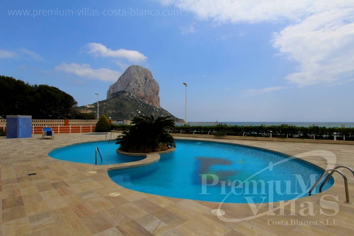 Front line apartment Calpe Costa Blanca - A0575 - Apartment in front of the sea with spectacular views of Ifach Rock. 5