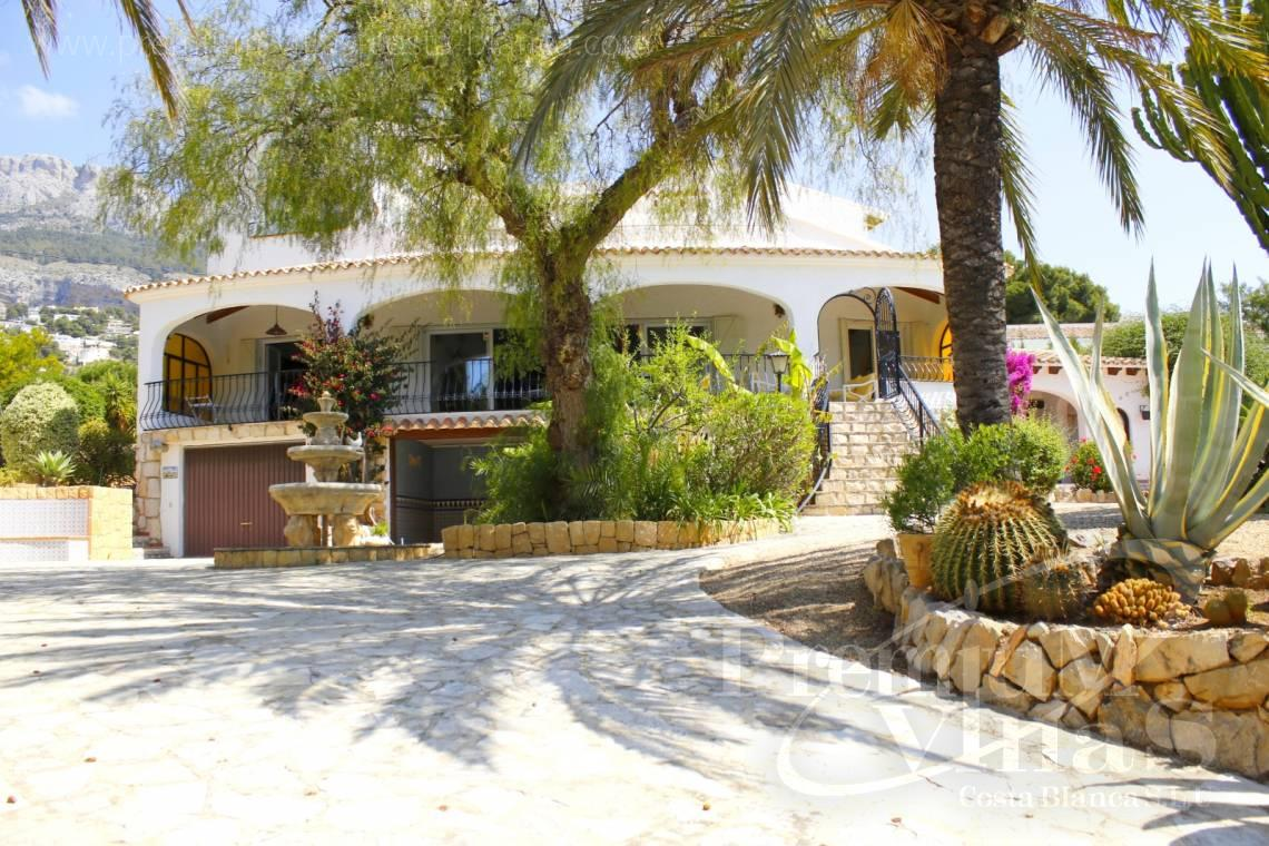 house villa for sale Altea Costa Blanca Spain - C2162 - Villa in Altea with guest apartment and sea views 4