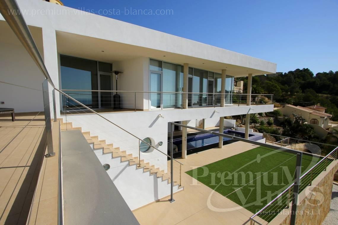 Buy villa with guest apartment in Altea Spain - C1977 - Modern luxury villa for sale in Altea with magnificent sea views 5