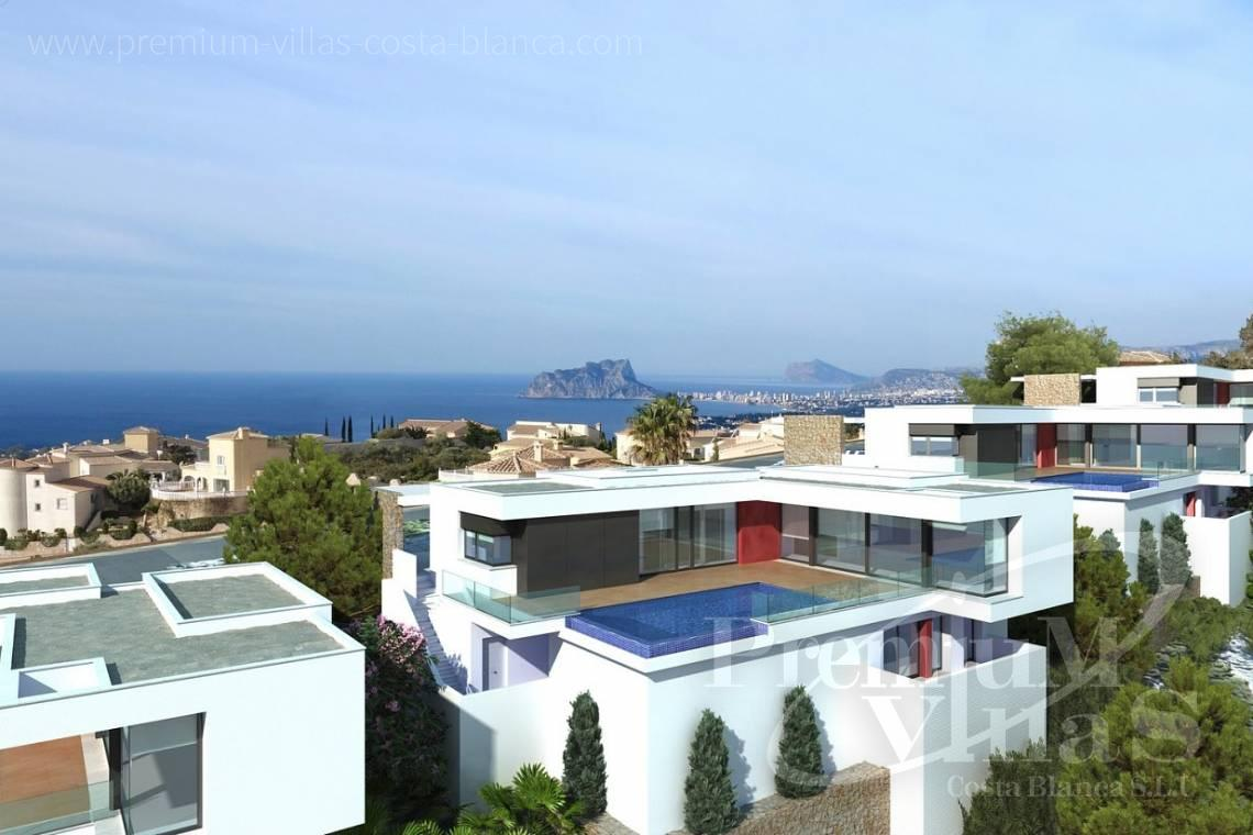 Modern 3 bedroom villas in Benitachell Costablanca - C2025 - Modern new build with fantastic sea views 5