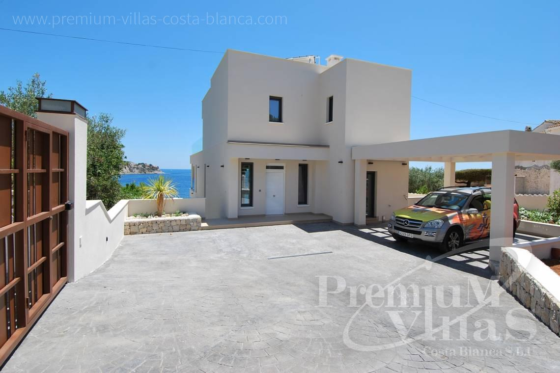 3 bedrooms modern villas for sale Costa Blanca Spain - C1436 - Modern front line villa in Benissa with direct access to the beach 5