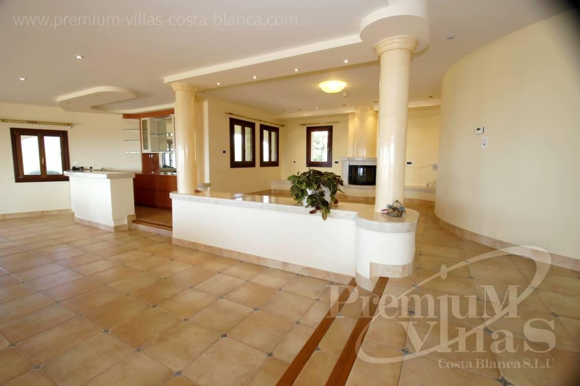 - C2174 - Luxury mansion on 3 levels with elevator and sea views in Calpe 6