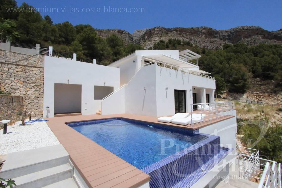 Buy 3 bedrooms villas houses with sea view Altea  Costa Blanca - C1595 - Six modern luxury villas under completion with very nice sea views 2