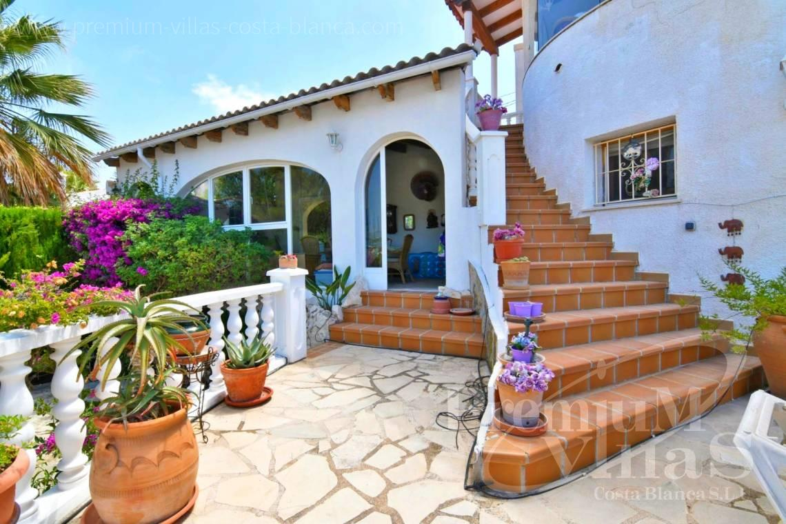 buy villa house Costa Blanca Spain - C2114 - Villa with heated pool and spectacular mountain views in Calpe 30