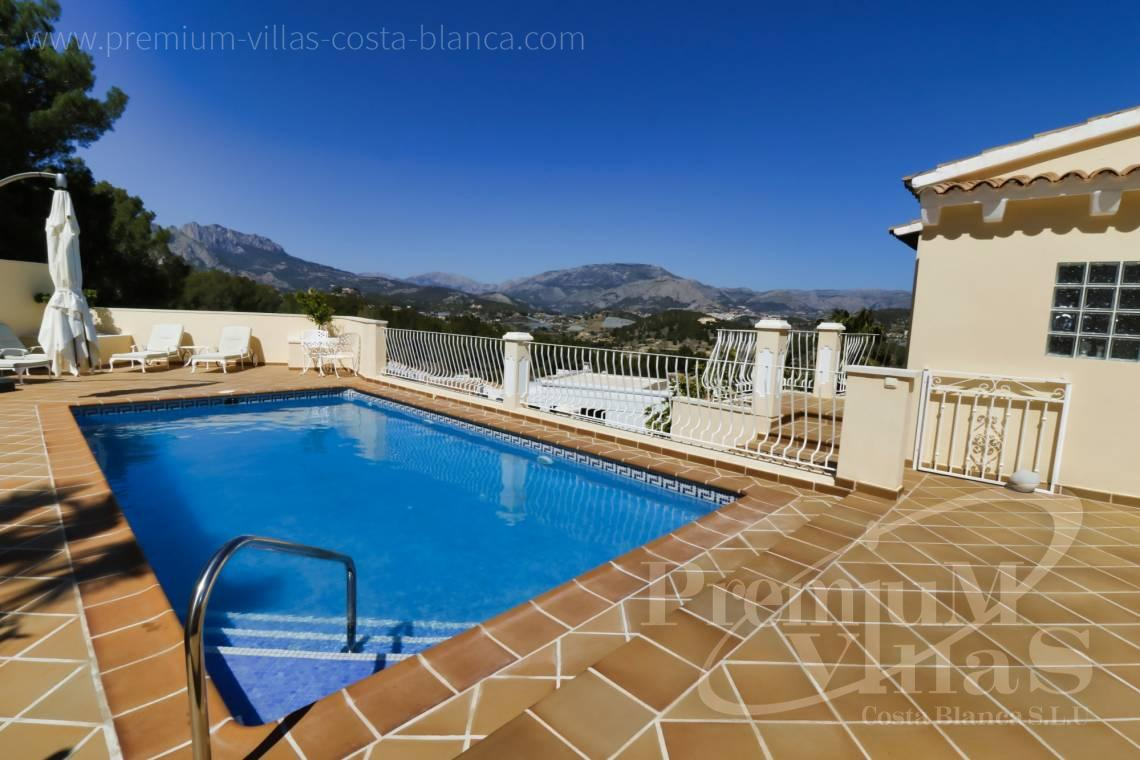 For sale villa with 2 guest apartments in La Nucia Costa Banca - C2249 - Villa in urbanization El Tossal in La Nucia 6