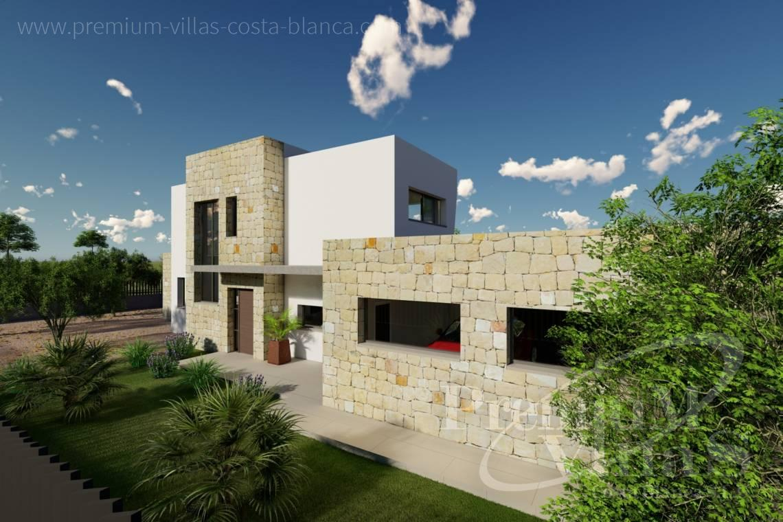 - C2312 - Modern 4 bedroom villa near the beach in Calpe 19