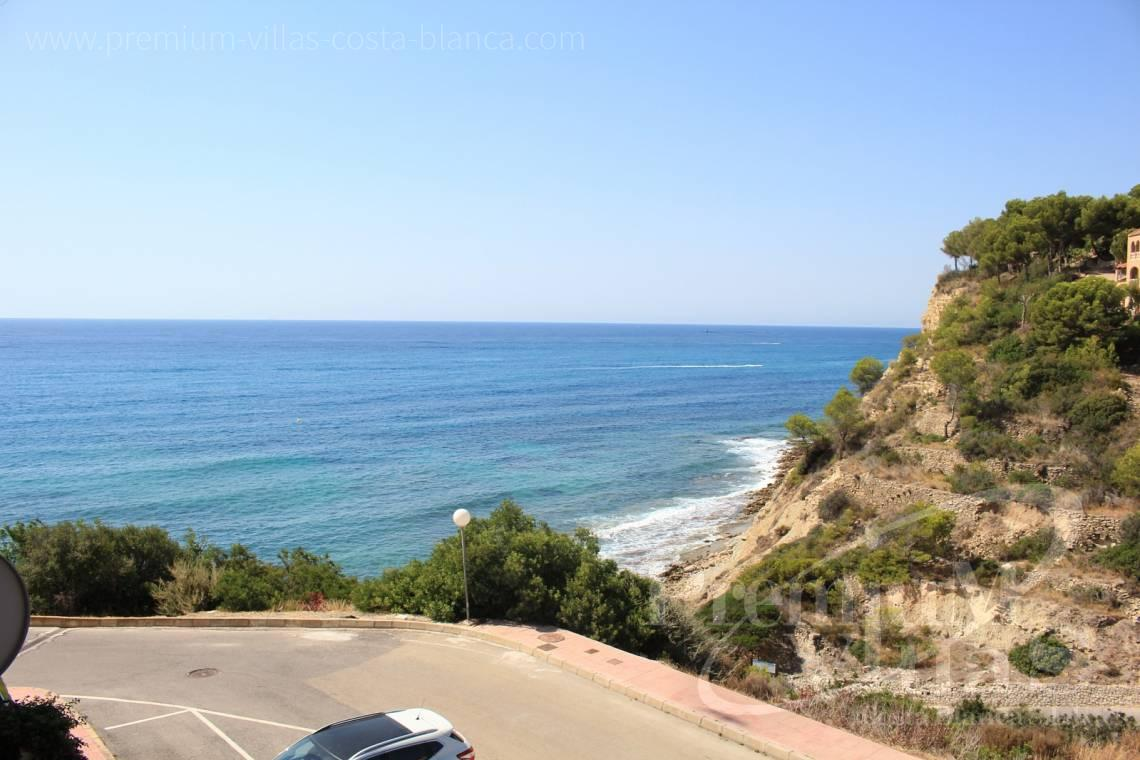 Front line 3 bedrooms apartment Calpe Costa Blanca - A0522 - Apartment on the seafront in Calpe  2