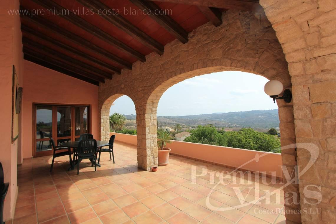 - C1835 - Well maintained stone finca in Benissa with nice sea views! 9