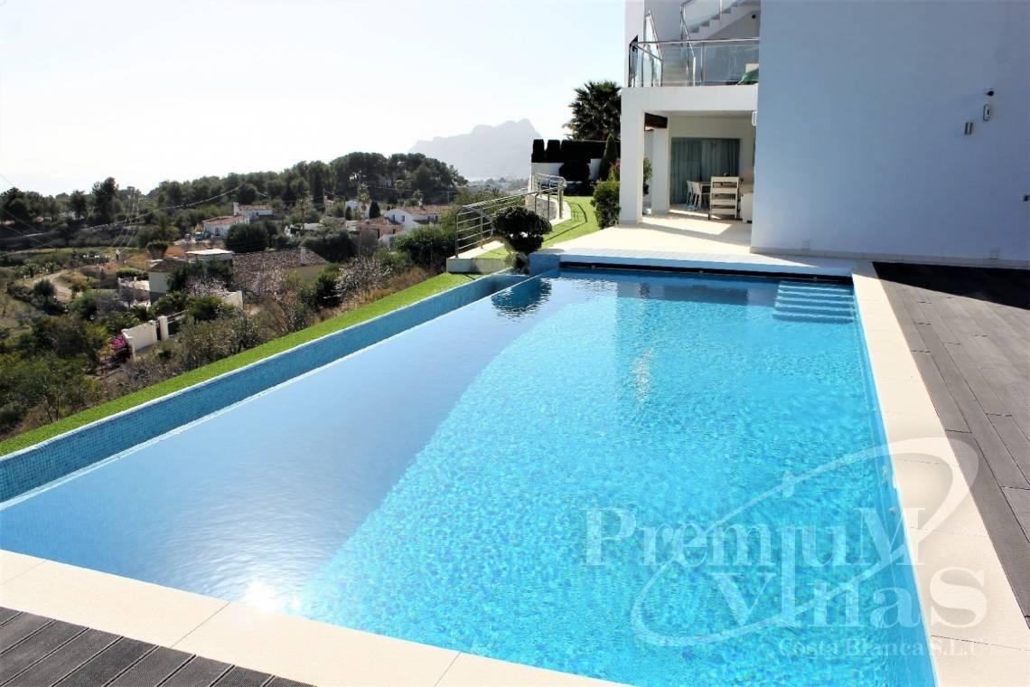 Villa house for sale in Benissa - C2142 - Modern villa with fabulous views and heated pool 23